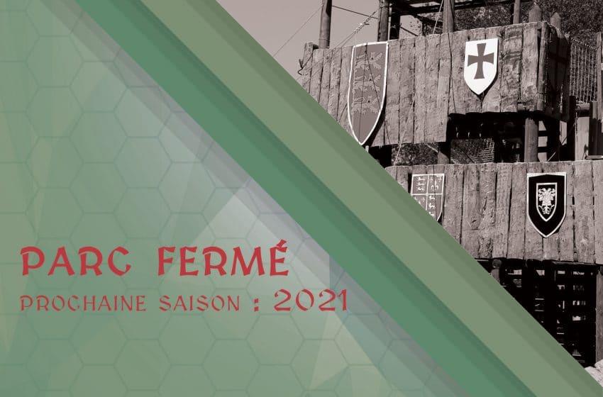 PARC FERMÉ – Prochaine saison : 2021